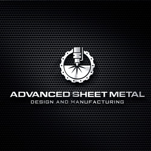 Logo For Advanced Sheet Metal Design And Manufacturing