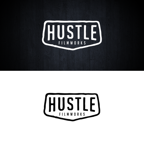 Bring your HUSTLE to my new filmmaking brands logo! Design by MarkCreative™