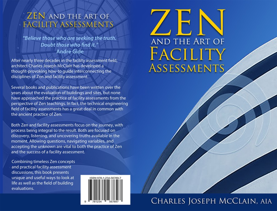 Book Cover Art Contest : Create the book cover for quot zen and art of facility