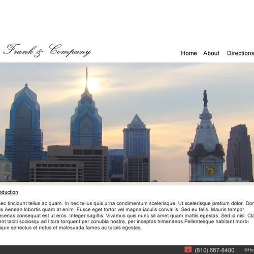 Diseño finalista de SME Site Design