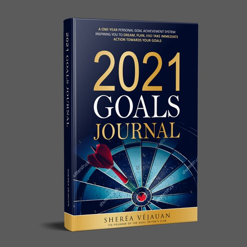 Design 10-Year Anniversary Version of My Goals Journal Design by JSH GROUP