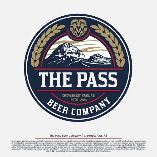 Beer company in the mountains needs a unique logo! | Logo