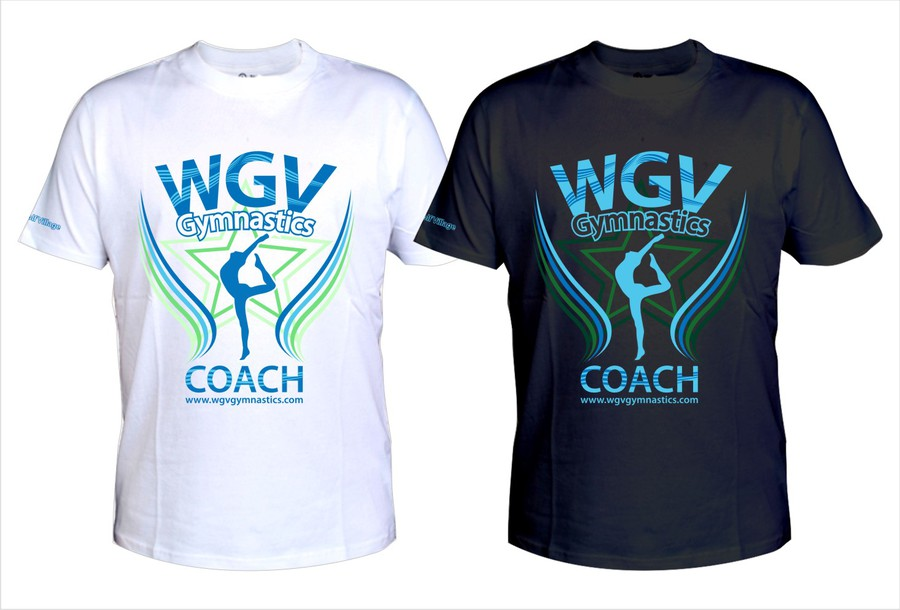 Create the next t shirt design for wgv gymnastics t Gymnastics t shirt designs