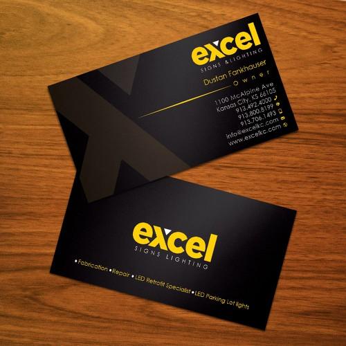Create vibrant new business card for sign company concurso carto design finalista por zayden reheart Choice Image