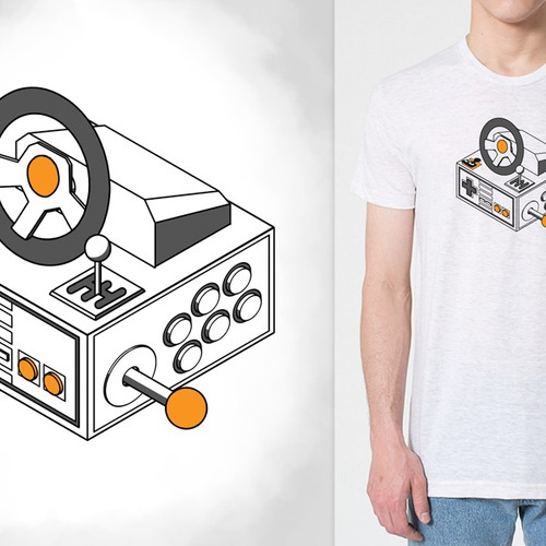 *Guaranteed Prize* Create a cool video game related T-shirt for AbleGamers charity Design by Grue