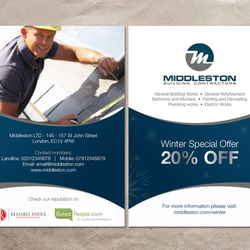 Flyers For Middleston Postcard, Flyer Or Print Contest 99designs