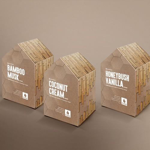 Runner-up design by Vink Designs