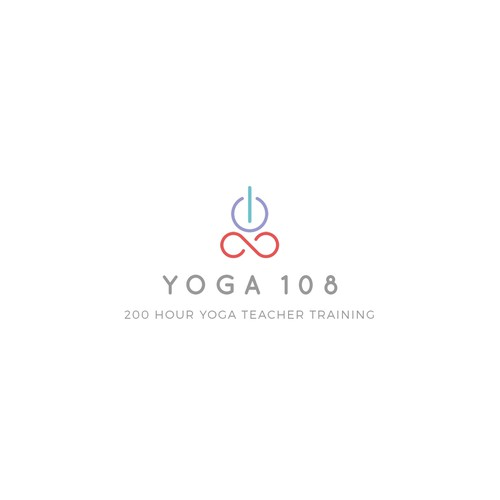 Yoga Teacher Training Branding Logo for Yoga 108 | Logo ...