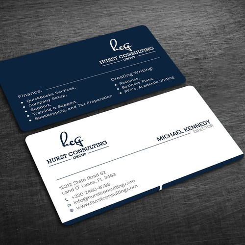 Design a professional yet modern business card for a new startup runner up design by blackbirds reheart Images