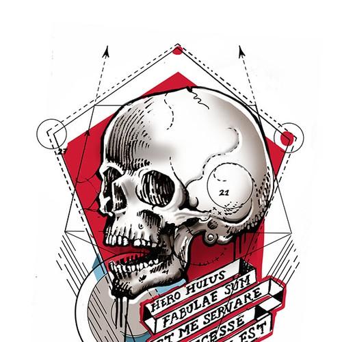 Runner-up design by ilustreishon