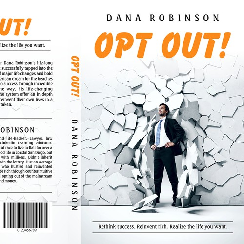 Non-fiction book cover for Opt Out, about conventional