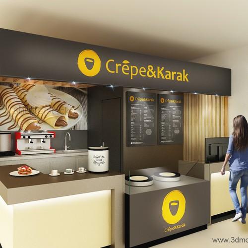 Crepe Kiosks Reimagined | Other design contest