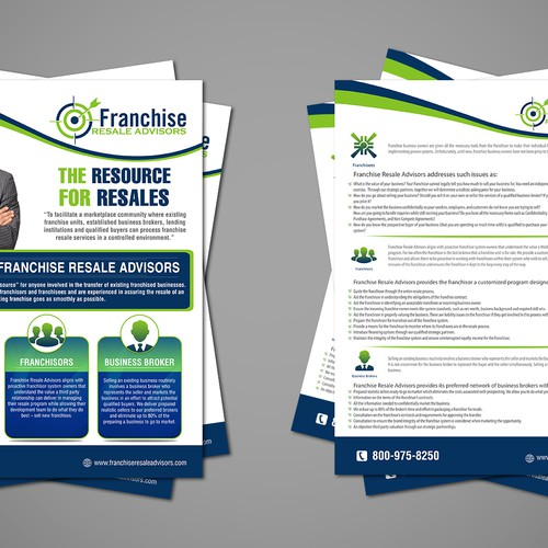 Create A Eye Catching Flyer For New Consulting Company Postcard