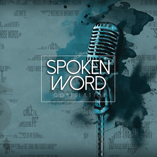 Spoken Word Compilation CD Artwork Design by Cheryl Francis