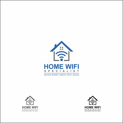 Home WiFi services provider needs a powerful new logo ...