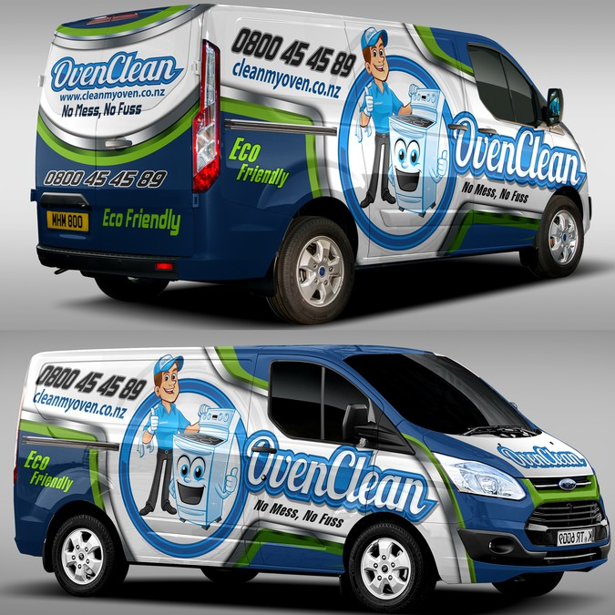 5d7abc7170 ... Eye catching mobile billboard (van wrap logo and c... Winning design by  CreAtive Mastah