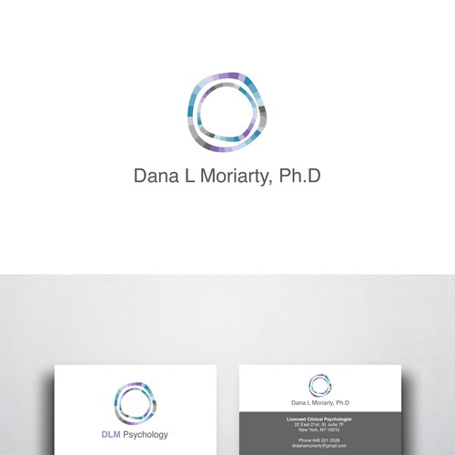 Design an ingenious logo/card for a stylish therapist Design by Cchick STUDIO