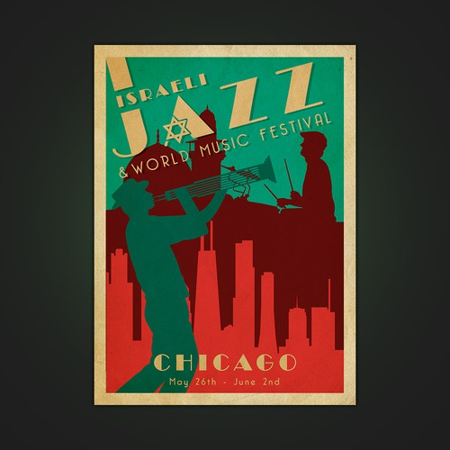 Israeli Jazz and World Music Festival Design by UNTALENTED