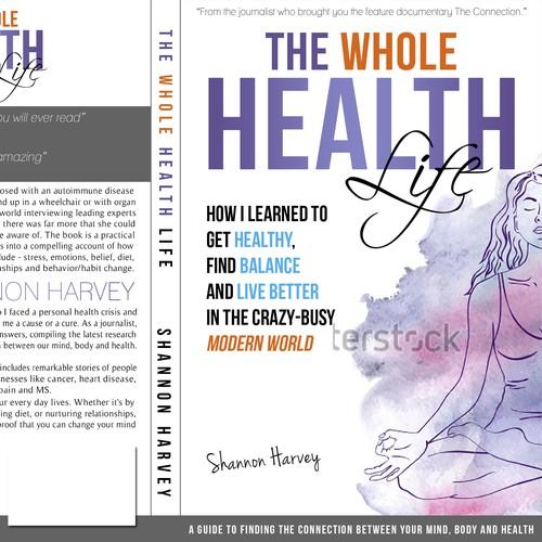 Book Cover Design Nonfiction ~ Book cover design for health science non fiction