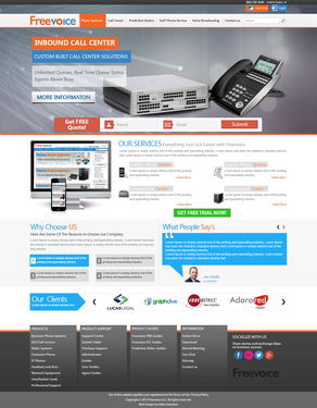 Runner-up design by Vebiz Solutions