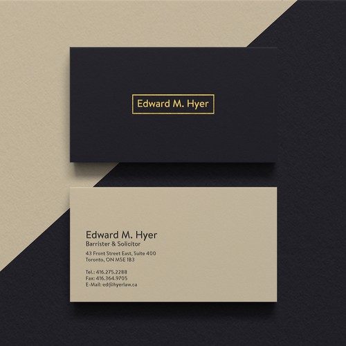 Business card for senior lawyer business card contest runner up design by ohmega reheart Image collections