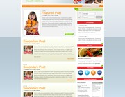 Wordpress theme design by Permanence