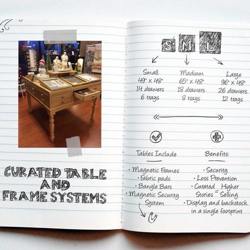 Design finalista por ORLY KUNST Creative