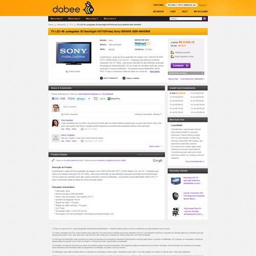 Diseño finalista de webknix