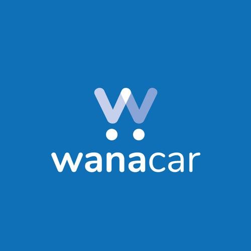 Logo Fresco y Digital para plataforma digital de Autos