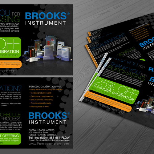 Create The Next Postcard Or Flyer For Brooks Instrument Postcard Flyer Or Print Contest 99designs