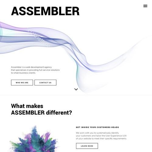 Runner-up design by spectrum.pie
