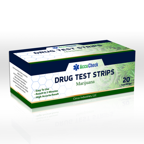 Detox thc test strip