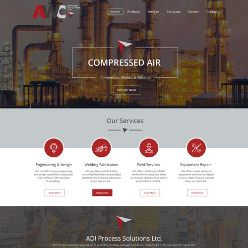 Runner-up design by Ved Web Services