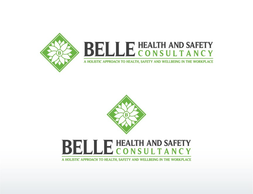 Create the next logo for Belle Health and Safety Consultancy