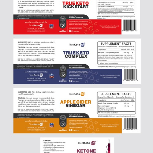 Doctor Endorsed Ketogenic Weight Loss Diet System Product Label Contest 99designs