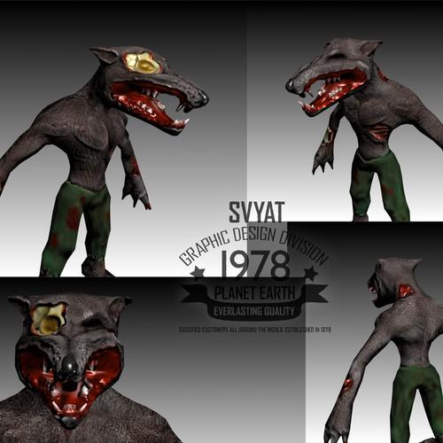 Ontwerp van finalist Svyat