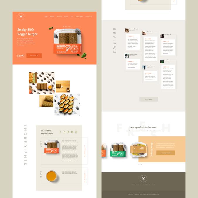 Winning design by UI Maniac