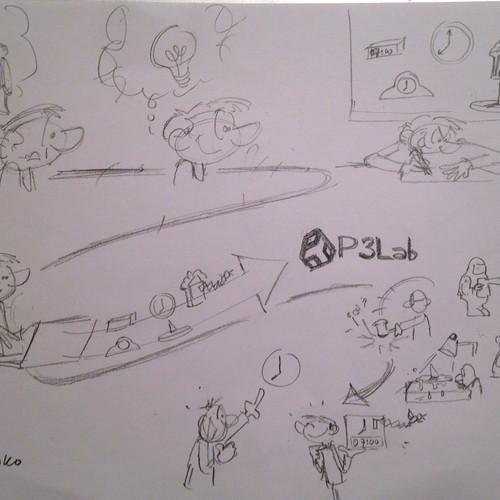 Diseño finalista de Loko Cartoons