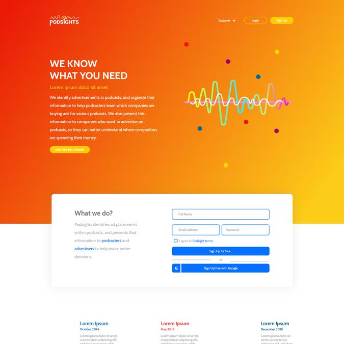 Winning design by DesignHubb