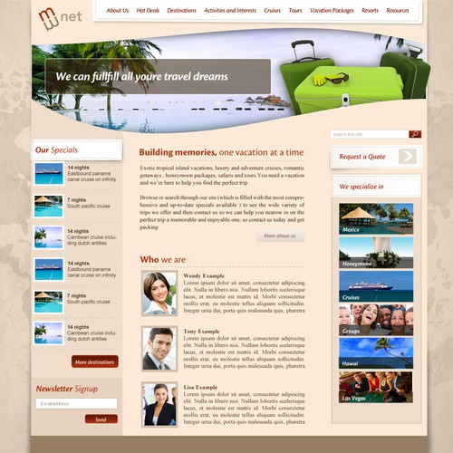 Runner-up design by Twebdesign