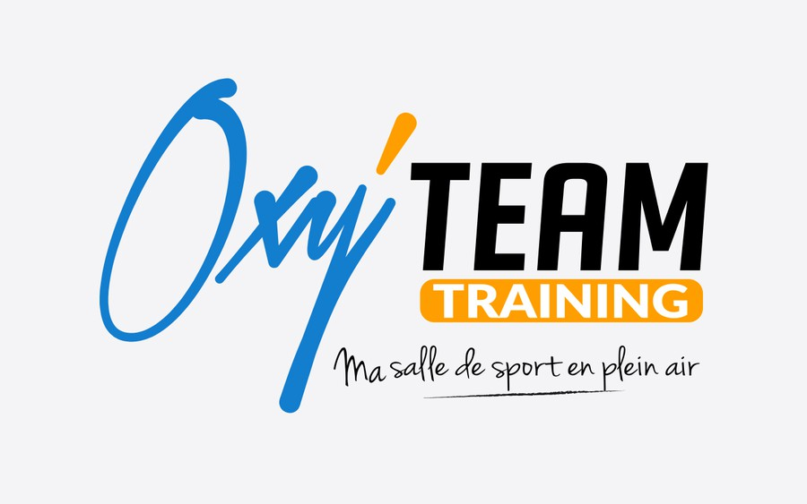 cr er un logo illustrant une salle de sport en plein air pour oxy 39 team training concours. Black Bedroom Furniture Sets. Home Design Ideas