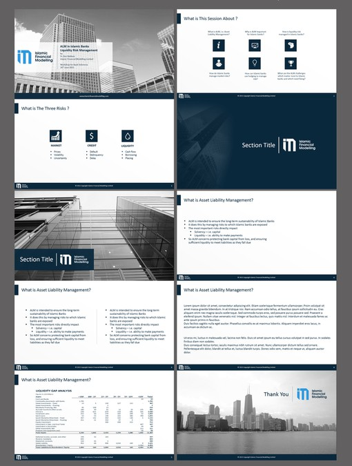 create an amazing presentation template for a unique educational