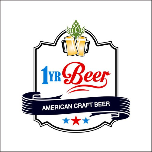 1yrbeer discovering american craft beer culture 2016 for Craft beer logo design