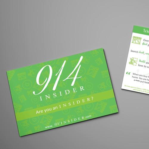 post card design Design by Amanda Mafra