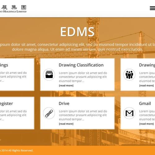 Runner-up design by Eclick Softwares