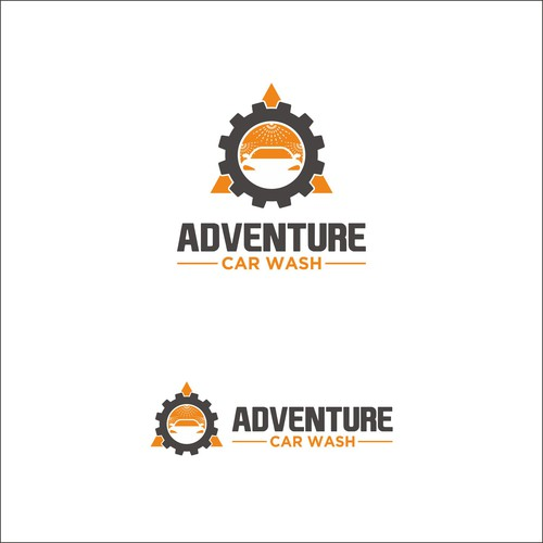 Design a cool and modern logo for an automatic car wash company Design by citra designs