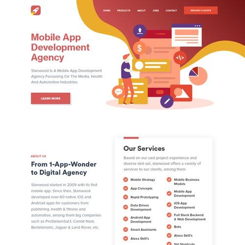 Zweitplatziertes Design von Orange Works