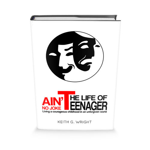 """Ain't No Joke"" Book Series Cover Design Design by benzplay"