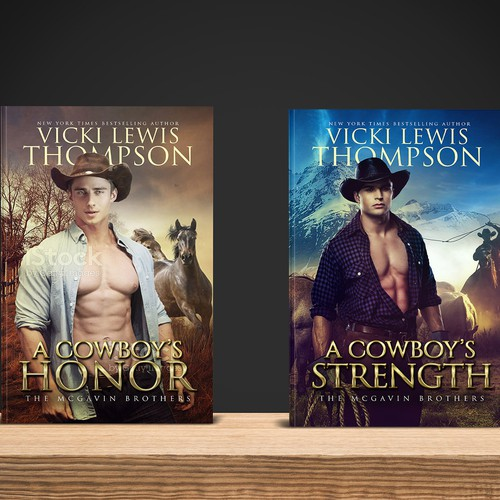 Design di Create book covers for a new western romance series by NYT bestseller Vicki Lewis Thompson di creativesoul31