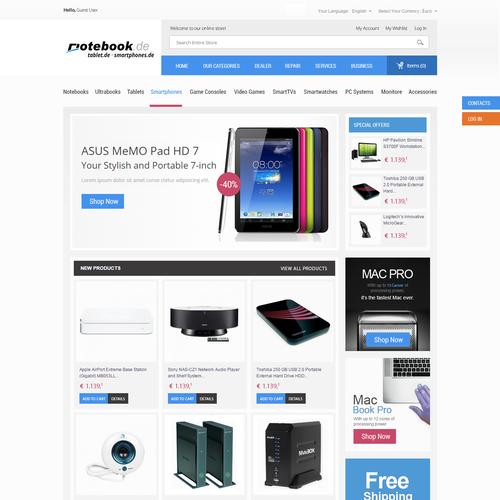 Meilleur design de Gowebbaby.com